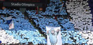 Curva nord lazio roma derby Olimpico