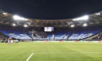 Coppa Italia curva nord lazio