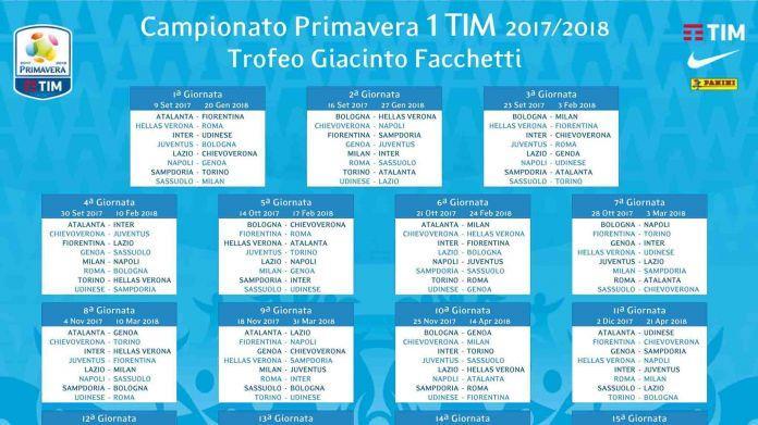Lazio Primavera Calendario.Primavera La Lega Ha Reso Noto Il Calendario Della Nuova
