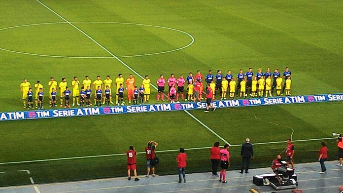 'Manita' della Lazio contro il Chievo, tris della Samp