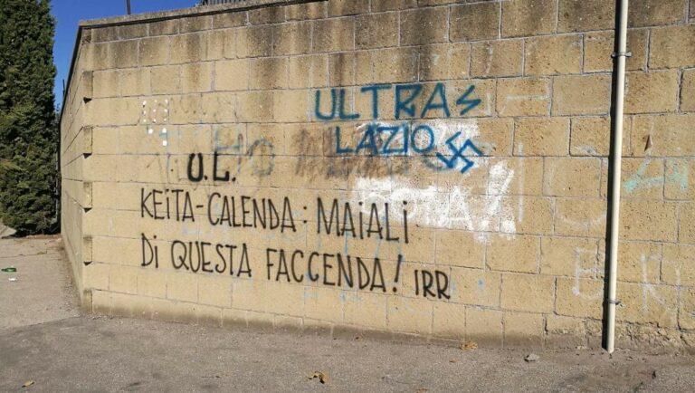 Keita scritte offensive sui muri di formello foto calcio news 24 - Scritte sui muri di casa ...