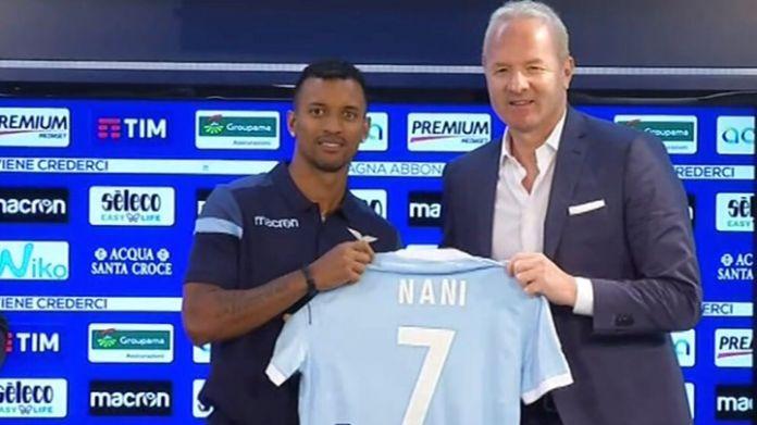 Lazio, torna l'Europa League: recupera Nani contro lo Zulte Waregem