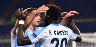 lazio-nizza ranking uefa europa league marusic caicedo