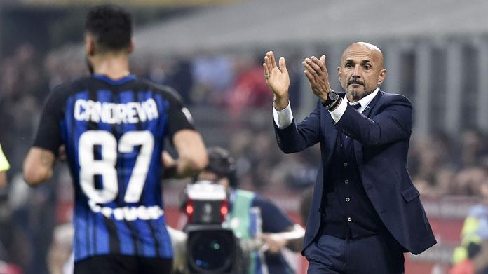 convocati inter spalletti candreva