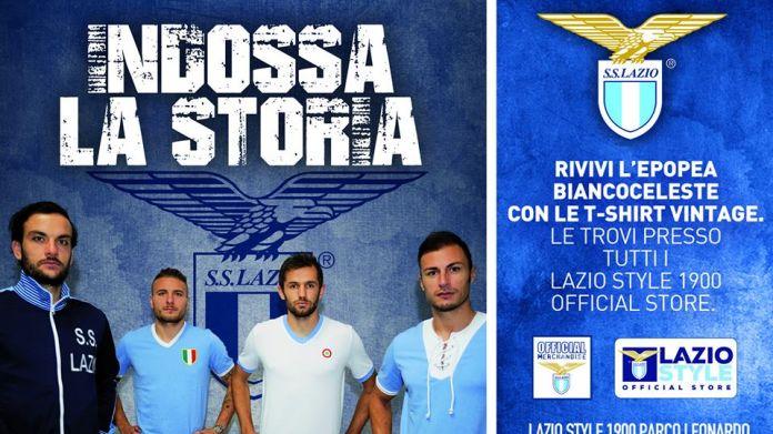 felpa Lazio prima