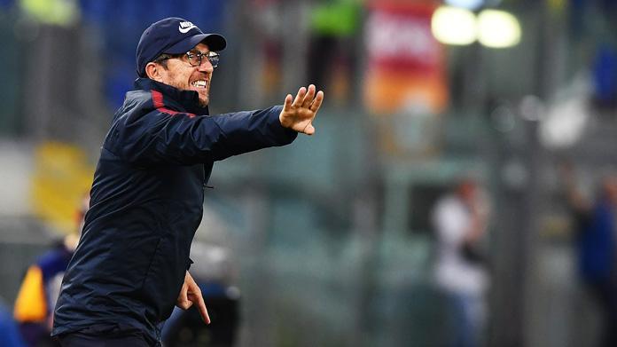 Di Francesco: 'Derby fa tremare le gambe. Scudetto? La Juve...'