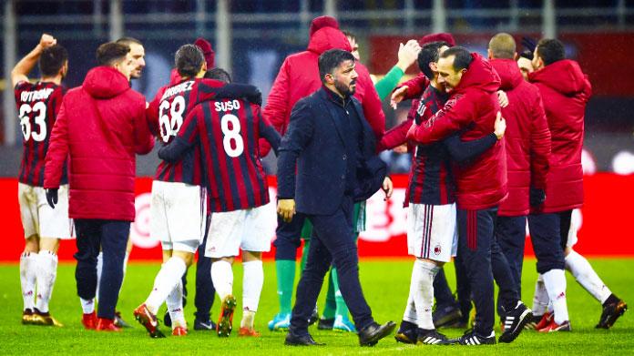 Milan, Romagnoli e Bonucci: