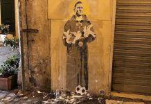 totti murales roma
