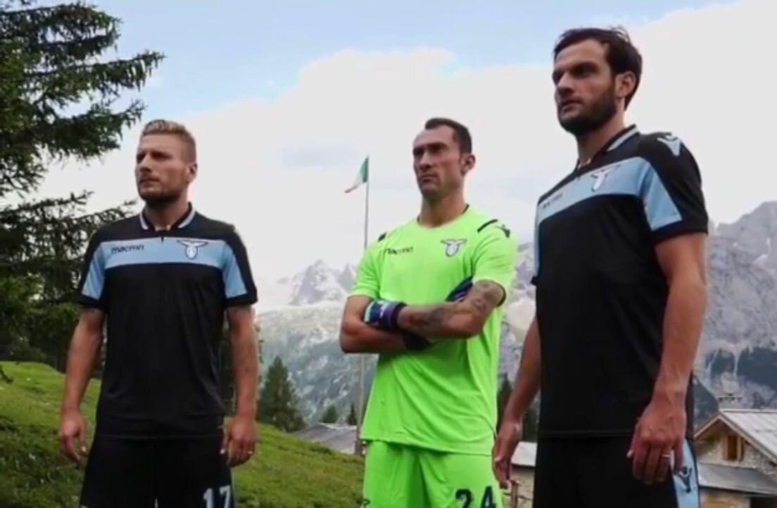 La Lazio svela sui social la terza maglia della stagione 2018/2019 ...