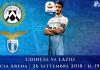 Udinese-Lazio diretta live