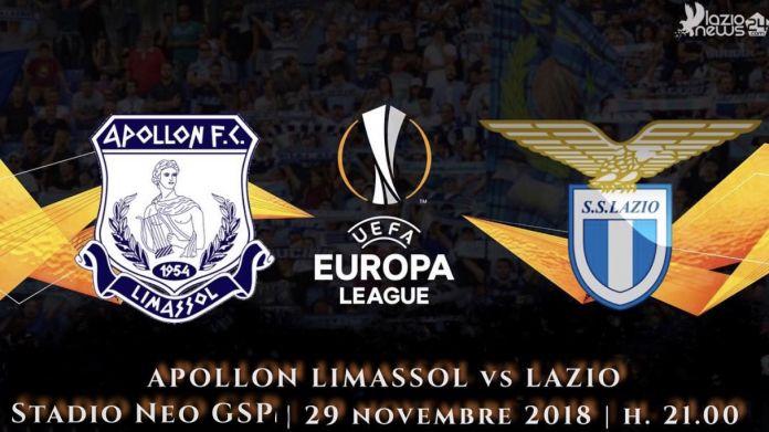 Apollon Limassol-Lazio