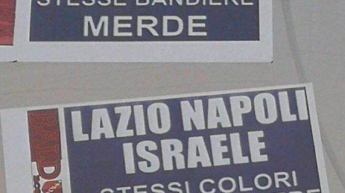 adesivi antisemiti