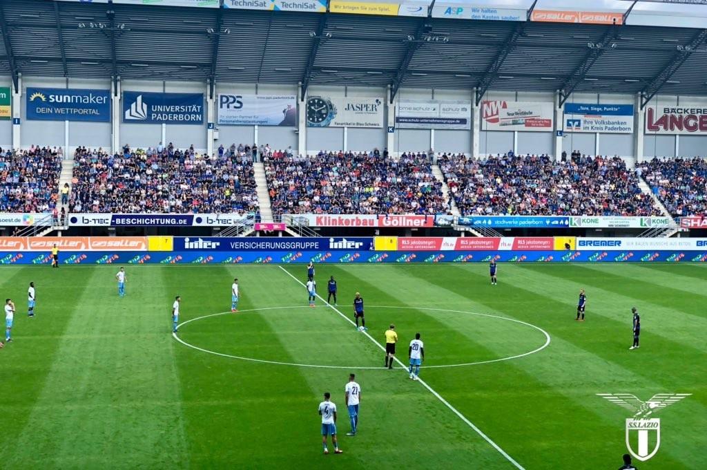 Paderborn-Lazio 2-4, pagelle e tabellino