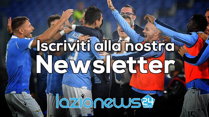 Lazio News 24 Newsletter