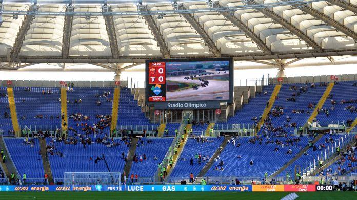 Olimpico, via le barriere dal derby di Tim Cup