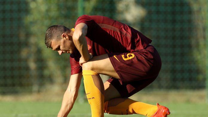Dzeko su Barça-Roma: