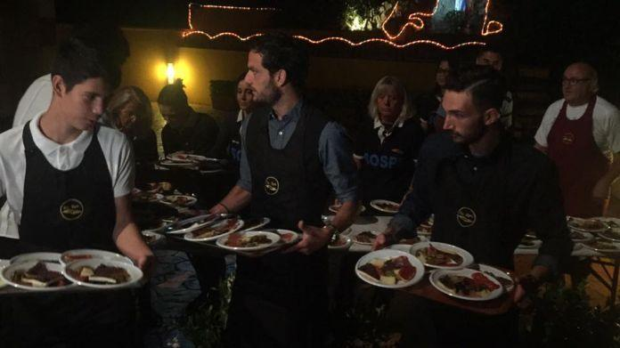 Cena beneficenza Lazio