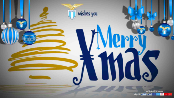 foto www.imagephotoagency.it. Anche la Lazio attraverso il suo sito  ufficiale ha augurato un Buon Natale a tutti i tifosi biancocelesti. 89bbb633a9d