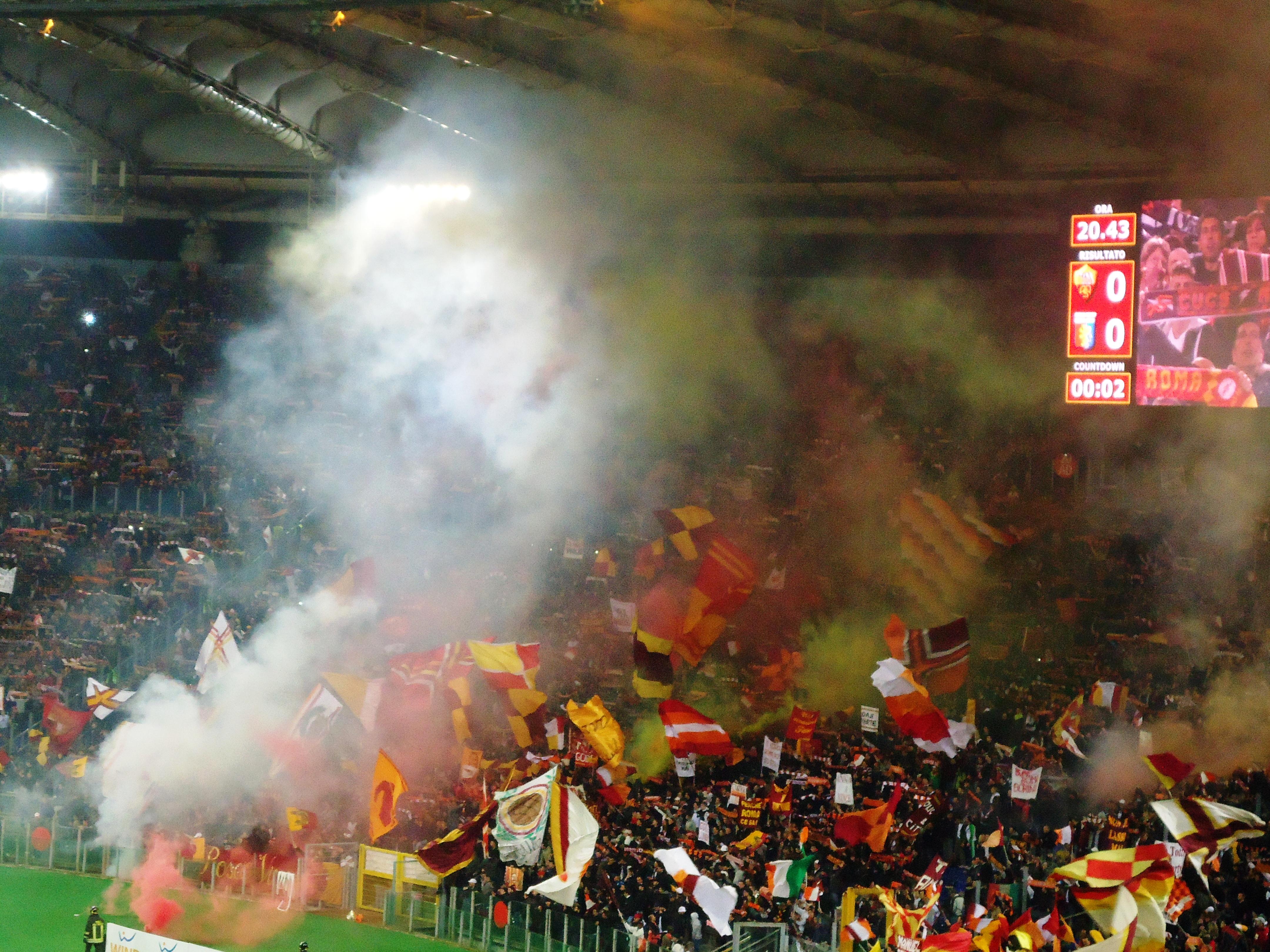 Lazio Roma Il Derby E Gia Iniziato La Curva Nord Mostra La